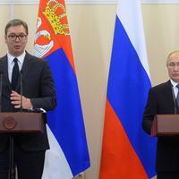 Putin i Vučić na pres konferenciji u Sočiju 4. decembra ove godine