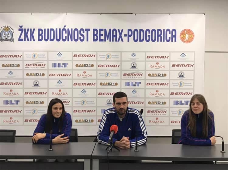 Press ŽKK Budućnost Bemax