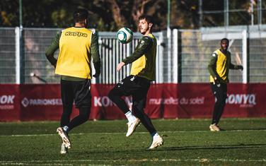 Stevan Jovetić na treningu