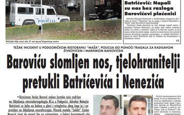 """Strana """"Vijesti"""" od 12. decembra 2009."""