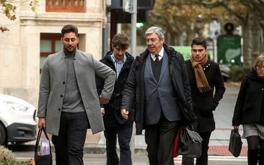 Fudbaleri sa advokatima ulaze u sud