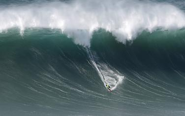 Detalj sa takmičenja u surfingu