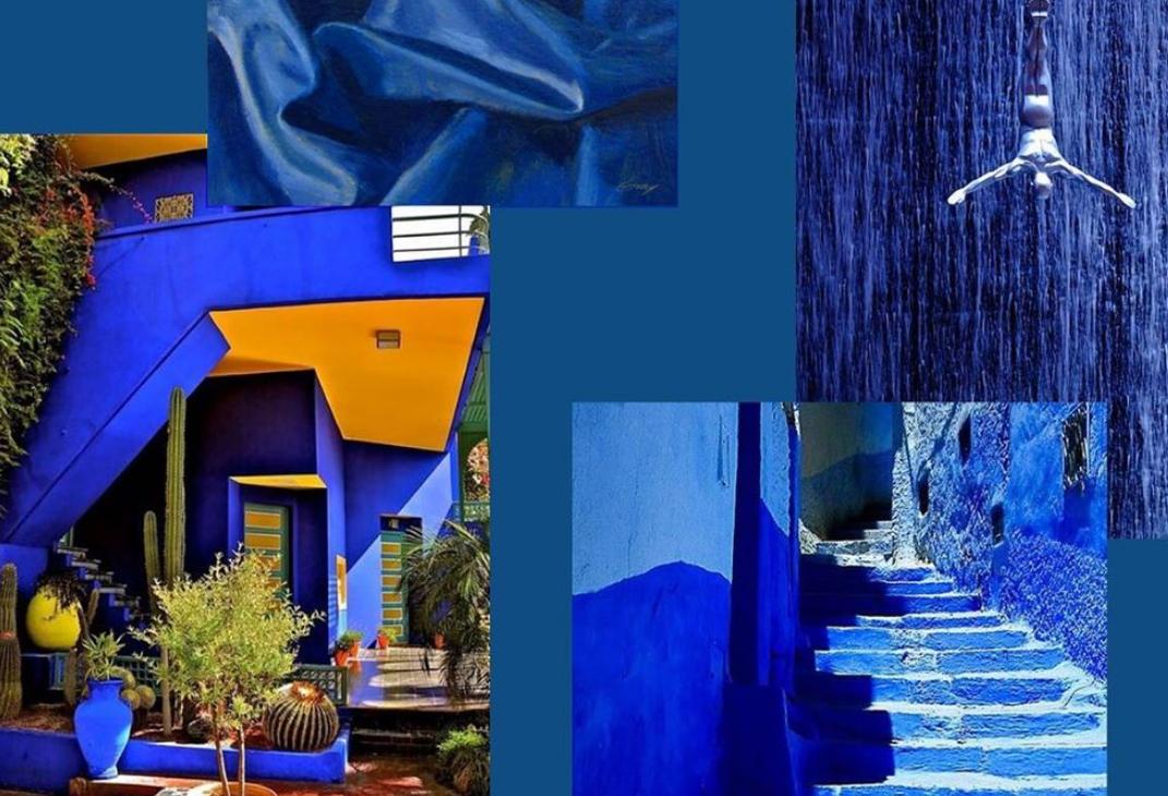 plavo