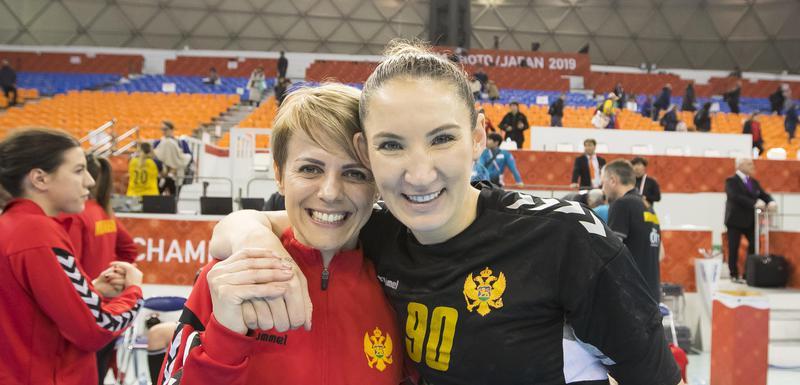 Bojana Jeličić i Milena Raičević