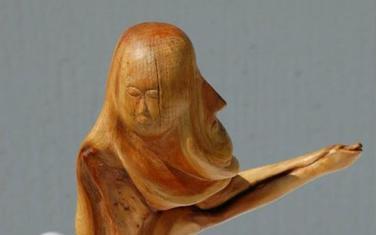 Jedan od izloženih radova Ilije Čabarkape