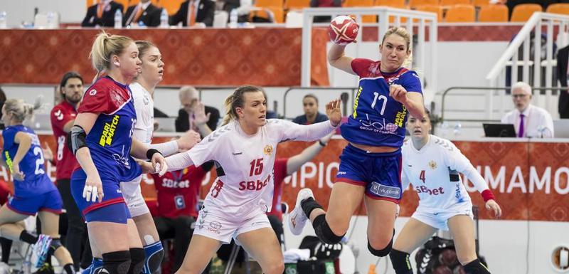 Sa meča Rusija - Crna Gora