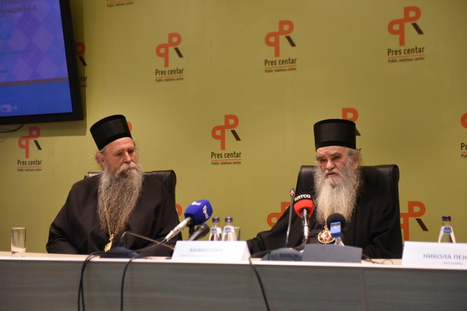 Episkop budimljansko-nikšićki Joanikije, mitropolit crnogorsko-primorski Amfilohije