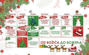 Program počinje 23. decembra