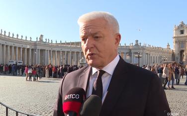 Marković u Vatikanu