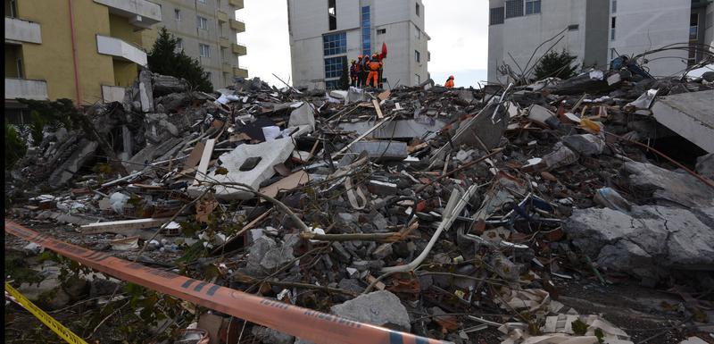 Drač nakon zemljotresa