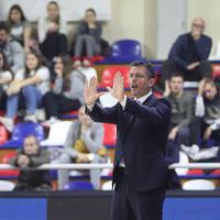 Petar Mijović na večerašnjoj utakmici