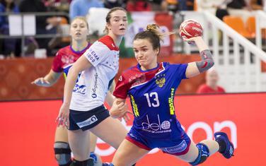 Ana Vjahireva na današnjoj utakmici