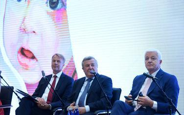 Nema garancija da bi izborno zakonodavstvo bilo usvojeno: Orav i Marković sa Veselinom Vukotićem (Arhiva Vijesti)