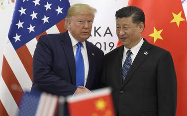 Američki predsjednik Donald Tramp i kineski predsjednik Si Đinping