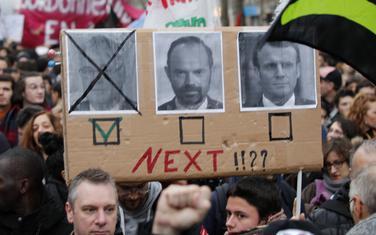 Sa protesta u Parizu