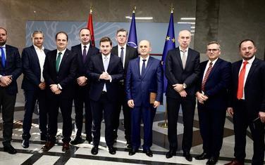 Sa sastanka u Tirani