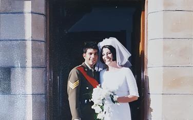 Pavle Tomov Mitrović prilikom vjenčanja sa Australijankom Belindom u Sidneju