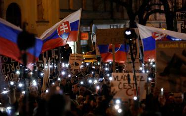 Sa jednog od protesta zbog ubistva Kucijaka i njegove vjerenice