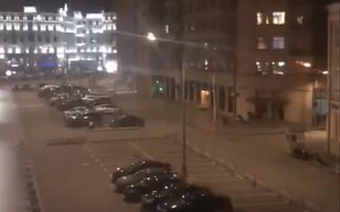 Zgrada ispred koje se dogodla pucnjva