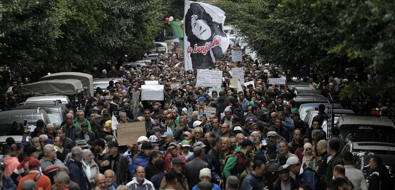 Sa protesta u Alžiru