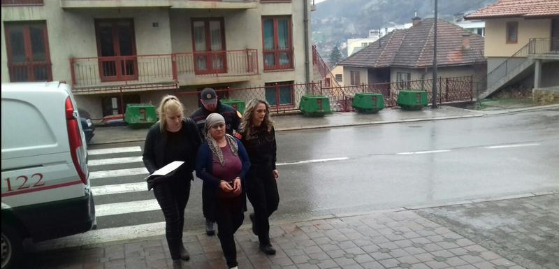 Rezultat slika za Nastavak suđenja Safiji Klimenta: Prijetila da će zapaliti kuću?