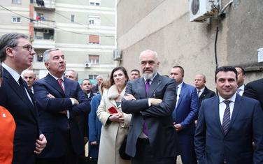 Vučić, Đukanović, Rama i Zaev u Draču