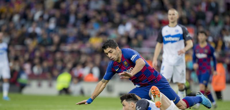 Luis Suares na meču sa Alavesom