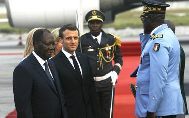 Makron u posjeti Obali Slonovače