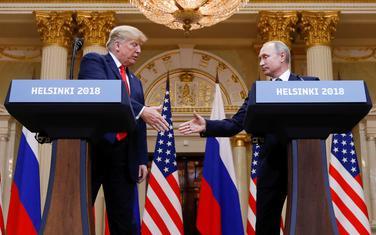 Tramp i Putin u Helsinkiju u julu 2018.