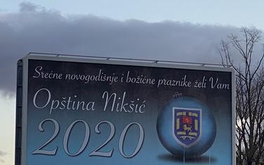 Bilbord Opštine Nikšić