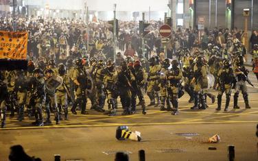 Sukob policije i demonstranata danas u Hongkongu