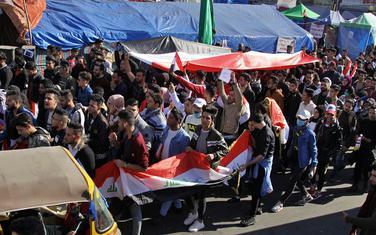 Sa protesta u Iraku