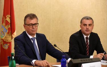 Skupština demantovala sekretara Odbora: Vlatko Šćepanović (desno)
