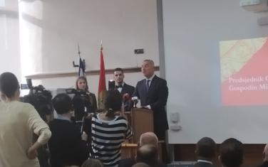 Milo Đukanović na Pravnom fakultetu