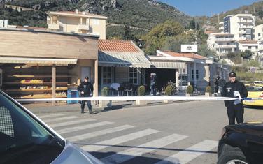 Policija na mjestu ubistva u Bečićima