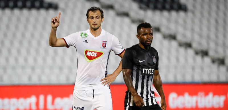 Danko Lazović iz perioda kada je igrao za mađarski Videoton