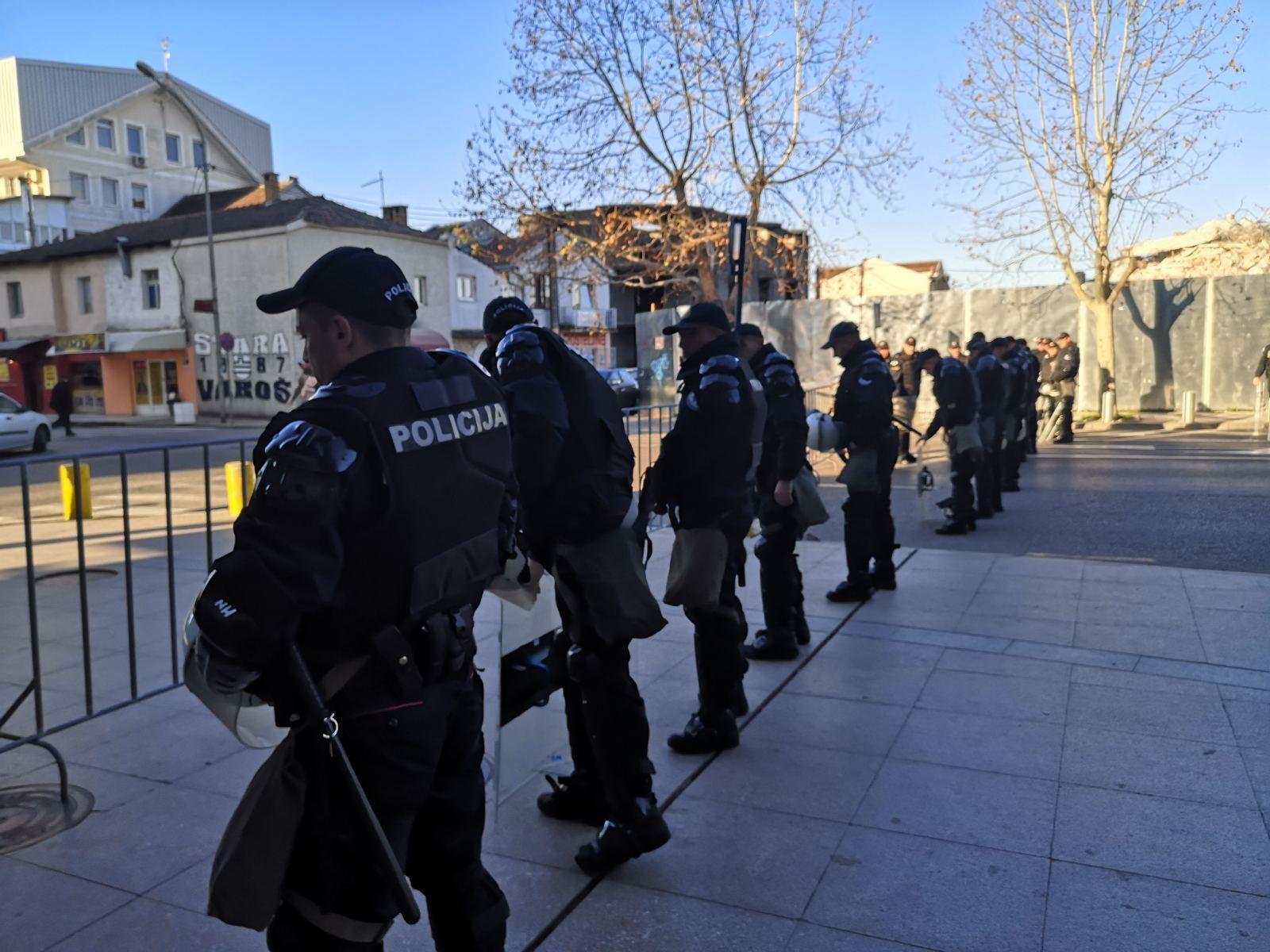 Policija, Podgorica