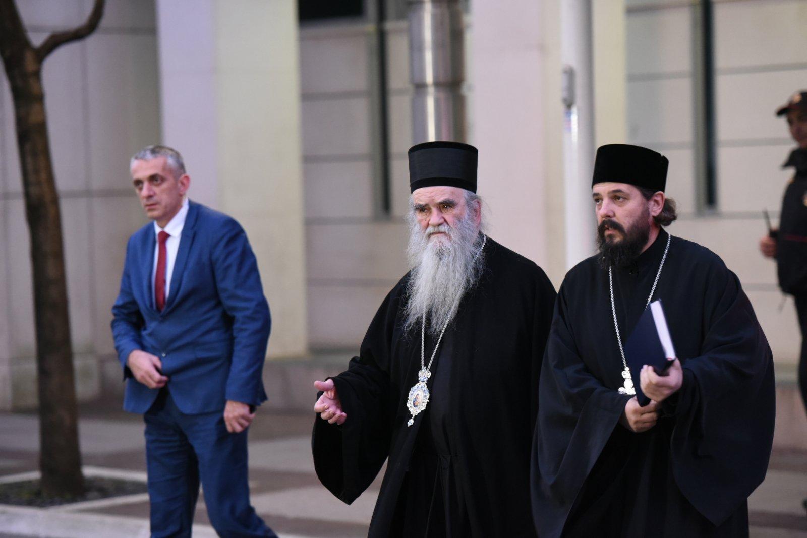 Amfilohije nakon razgovora sa Markovićem