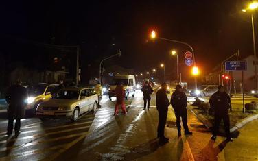 Blokada puta na Rakonjama