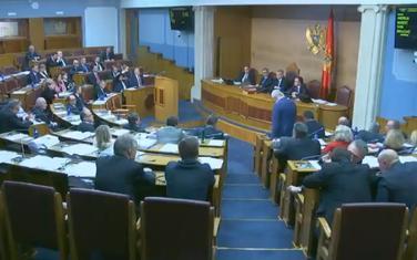 Sa današnjeg zasijedanja Skupštine
