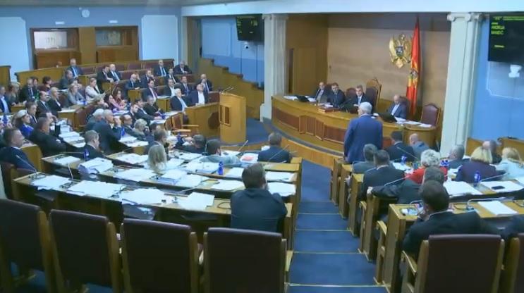Sa skupštinske rasprave o Predlogu zakona o slobodi vjeroispovijesti