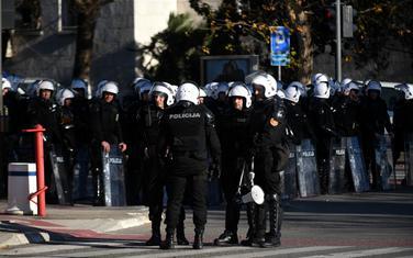 Veliki broj policajaca juče na ulicama glavnog grada
