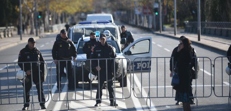 Policijska blokada juče u Podgorici