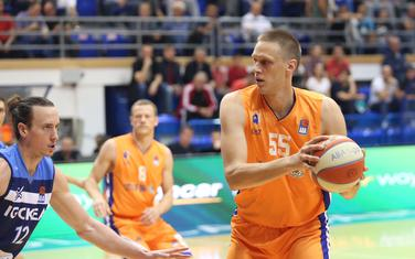 Uroš Luković na meču sa Igokeom u Baru