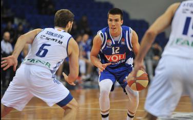 Bogdan Bojić (Sutjeska) u vrijeme dok je igrao za Budućnost