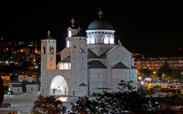 Hram Hristovog vaskrsenja u Podgorici (Ilustracija)
