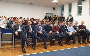 "Publika na svečanoj dodjeli Nagrade ""Božidar Milić"" za 2019."