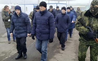 Prva razmjena zarobljenika Dombasa i Kijeva u posljednje dvije godine