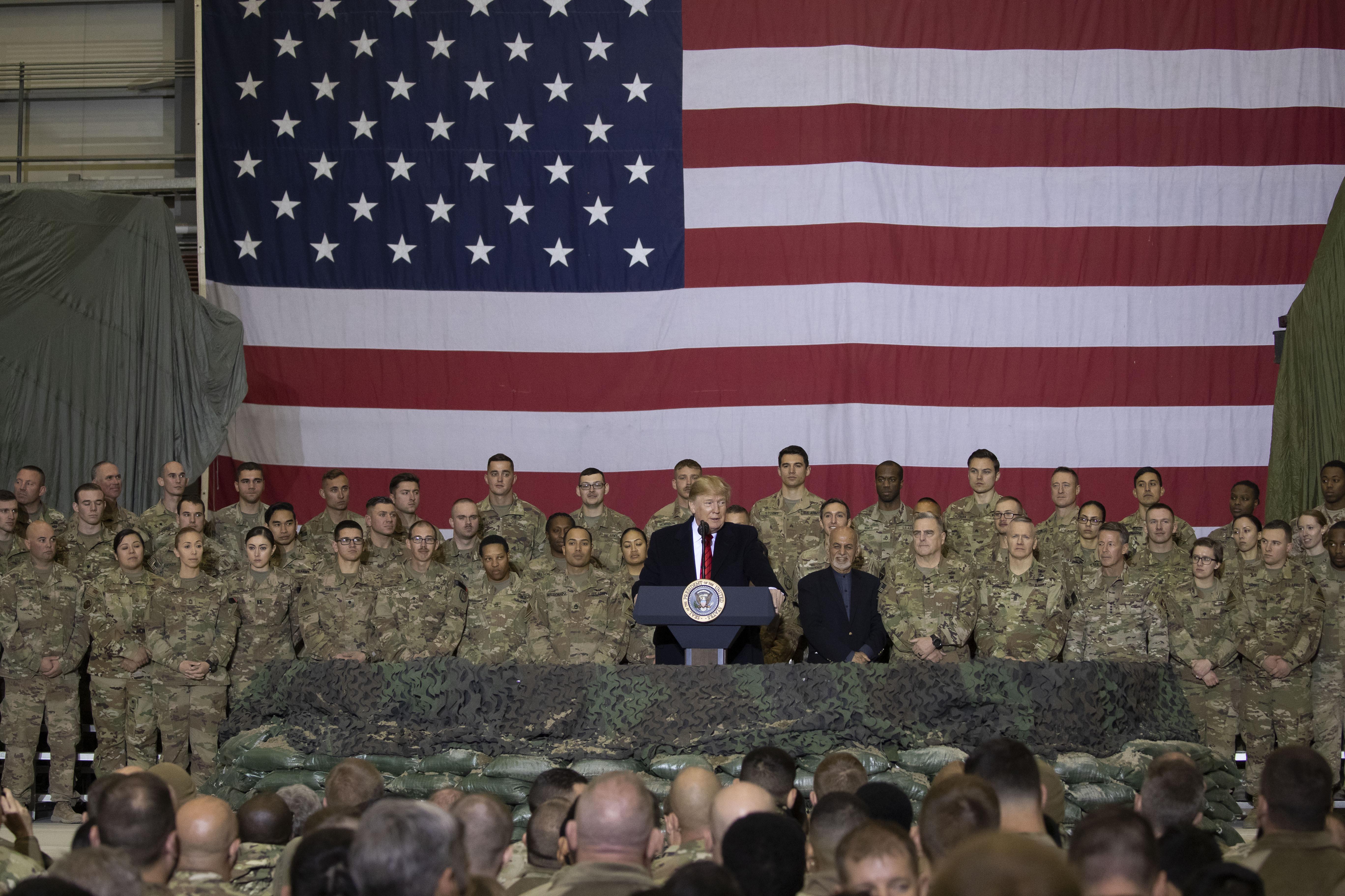 Donald Tramp, Avganistan