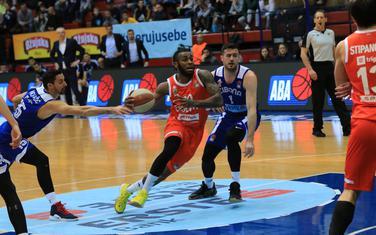 Sa utakmice Cibona - Cedevita Olimpija